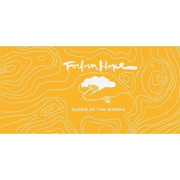 Forlorn Hope Queen of the Sierra White Wine Label