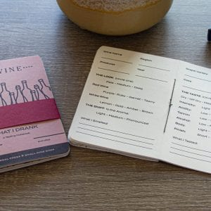 Small Wine Shop Wine Tasting Notebook