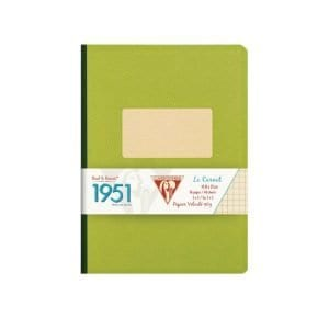 clairefontaine-1951-green-clothbound-notebook