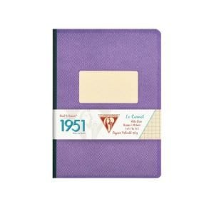 clairefontaine-1951-violet-clothbound-notebook
