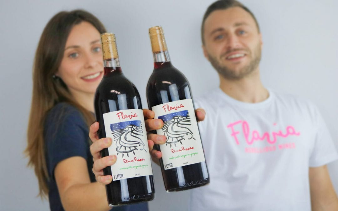 Flavia Rebellious Wines Straight  from Sicily